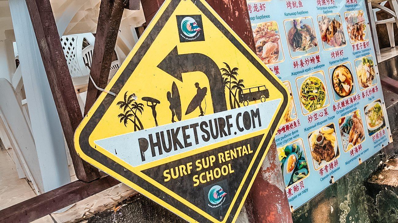 Surf en tailandia