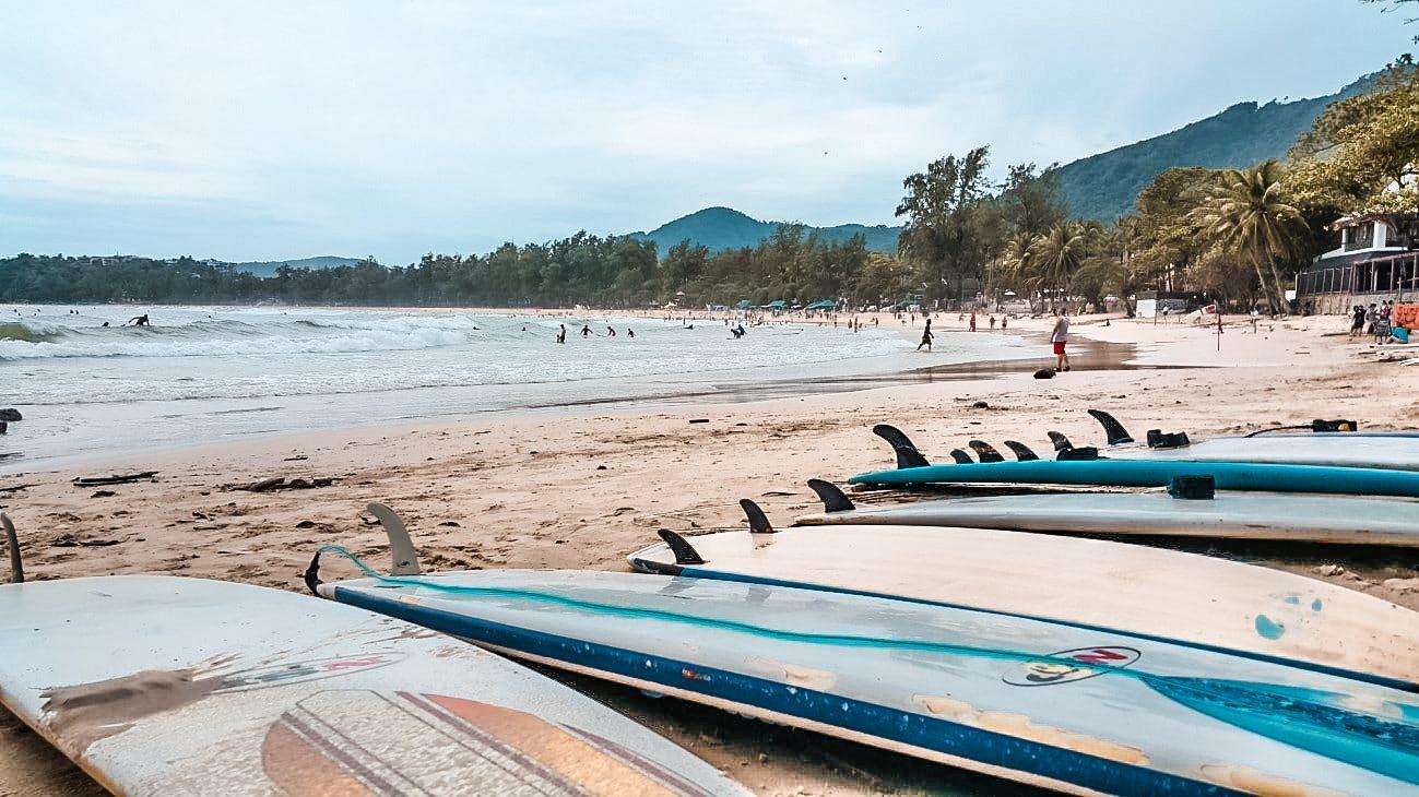 surf tailandia - Kata Beach