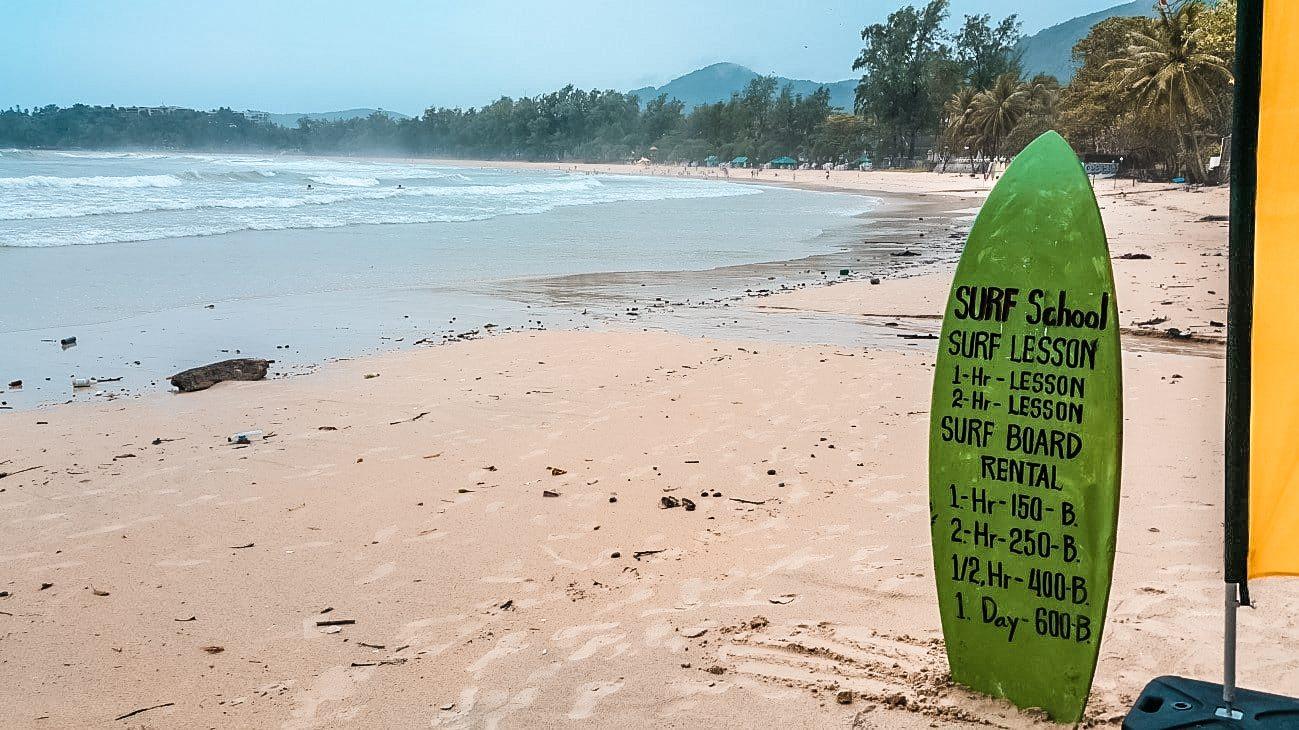 Kata Beach - Surf en tailandia