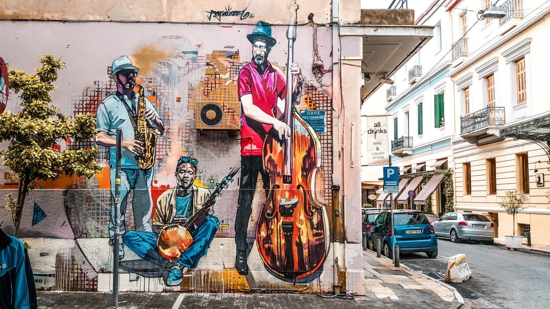 Grafiti - Viaje a Atenas