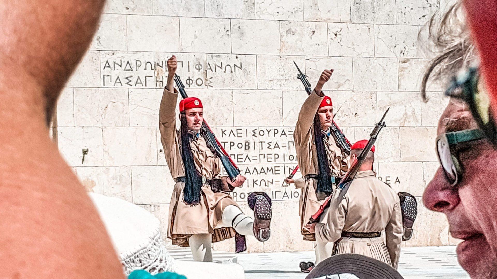 Cambio de guardia - Viaje a Atenas