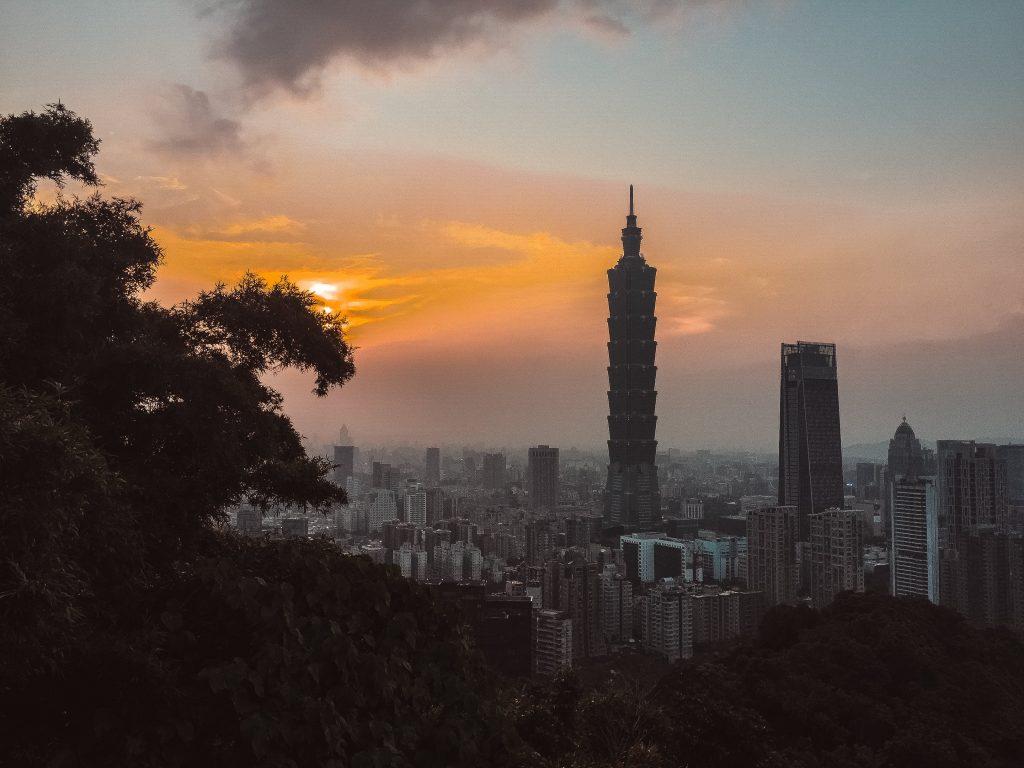 Atardecer en elephant mountain - Que ver en Taipei
