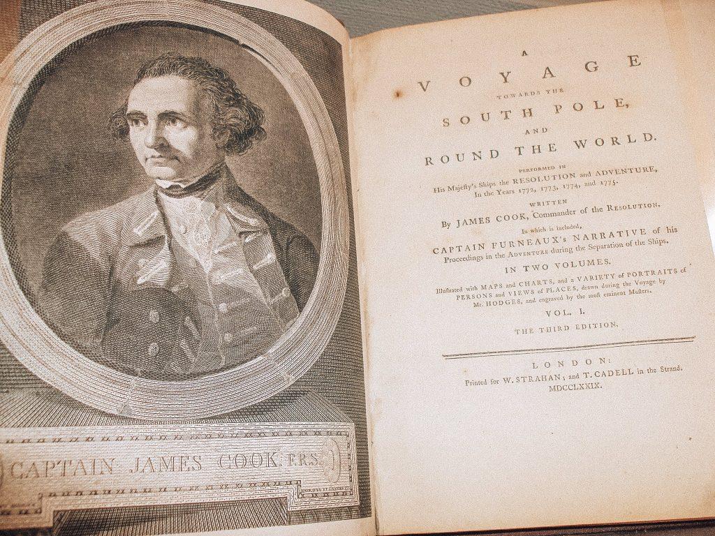 Cuaderno de viajes del Capitan Cook