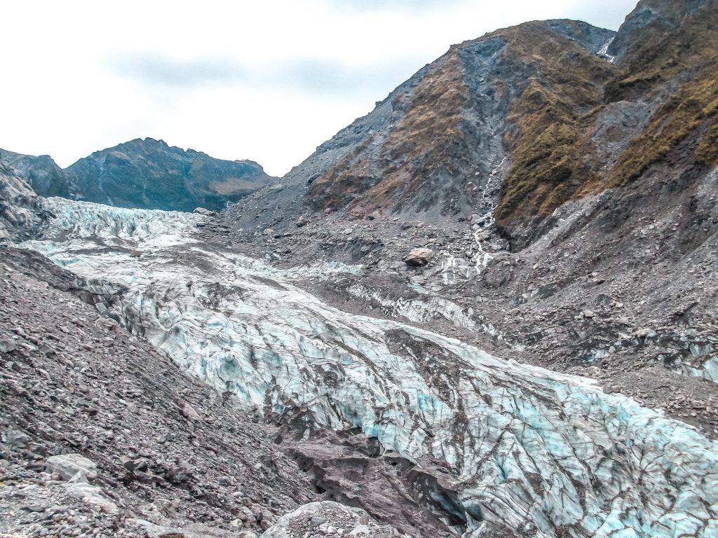 Glaciar de Fox - Nueva Zelanda isla del sur