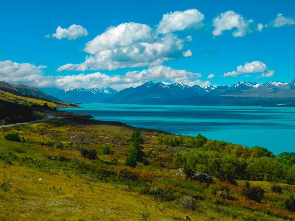 Lago Pukaki - sur de nueva zelanda