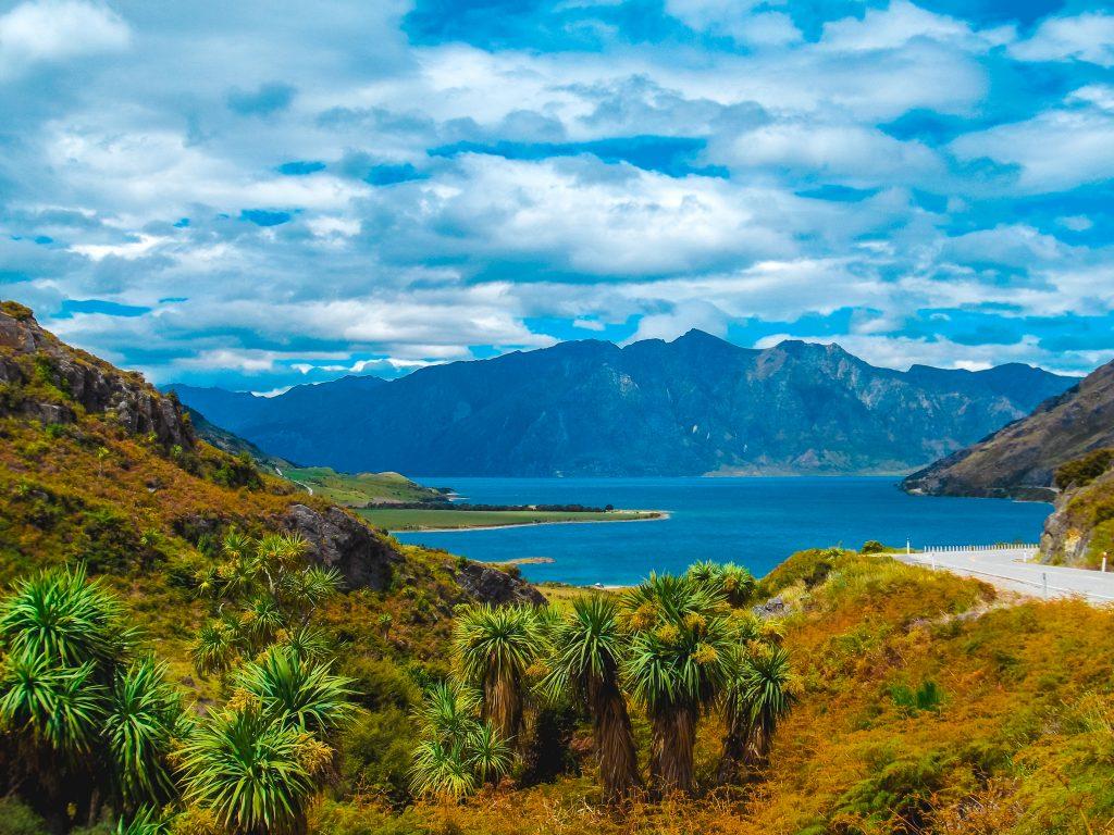 Lago Wanaka - isla sur de nueva zelanda