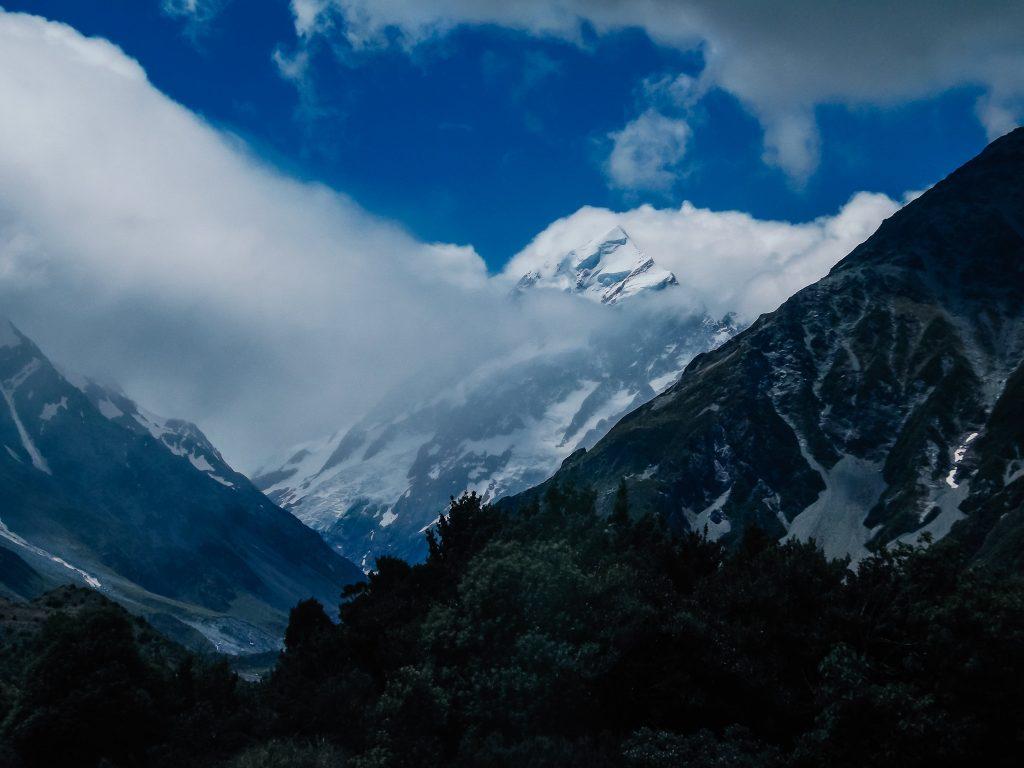 Monte Cook - Nueva Zelanda isla del sur