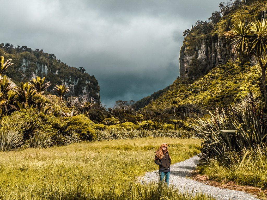 Parque nacional de paparoa - sur de nueva zelanda