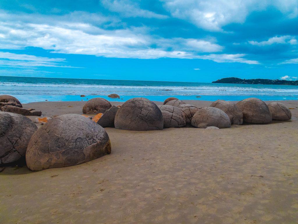 Playa de Koekohe - Nueva Zelanda isla del sur