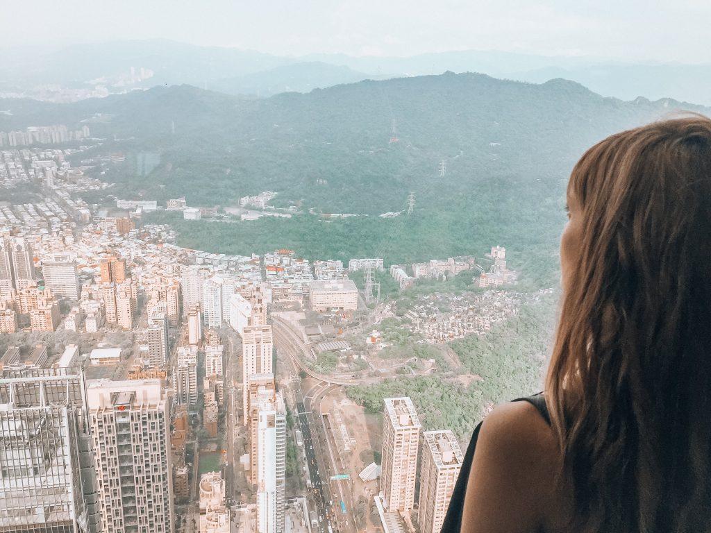 vistas desde el observatorio - Que ver en Taipei