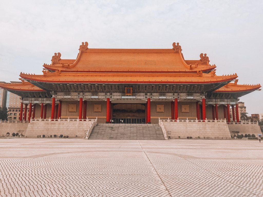 teatro nacional - Que ver en Taipei