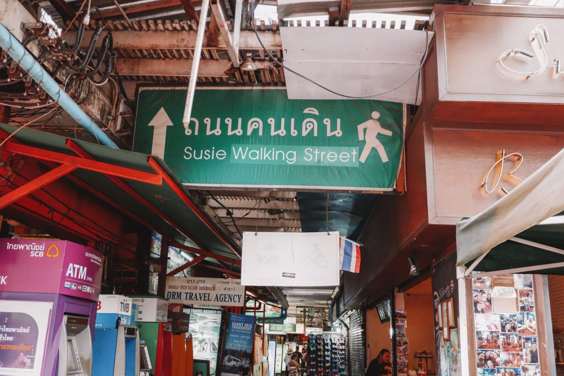 Mercados nocturnos en Bangkok