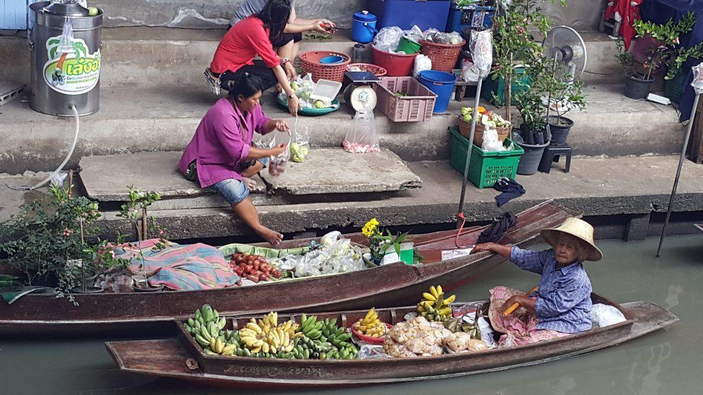 Danmoen Saduak mercado flotante