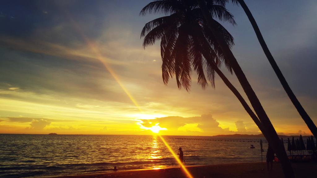 Playa principal de Pattaya