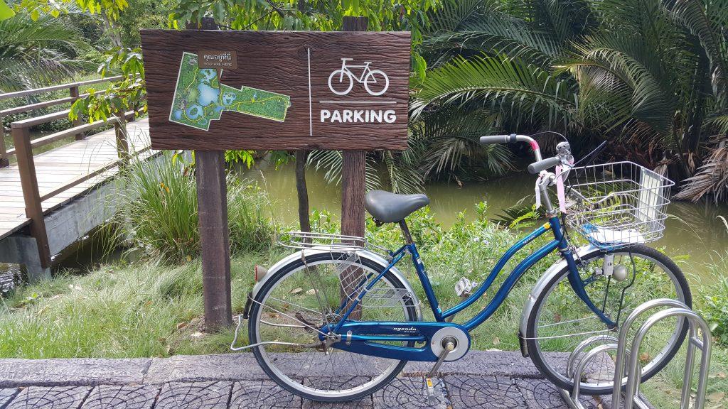 ruta en bici de Bangkrachao