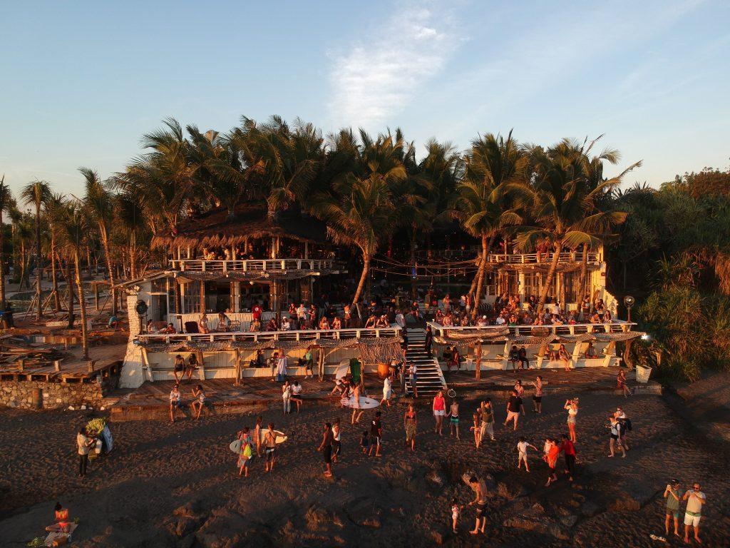 Echo beach club - que visitar en Canggu