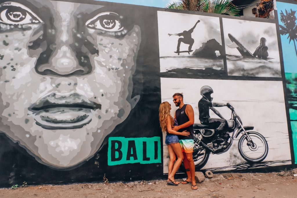 Graffitis - que ver en Canggu