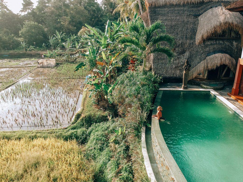 vistas desde nuestra villa en Ubud - Que ver en Ubud