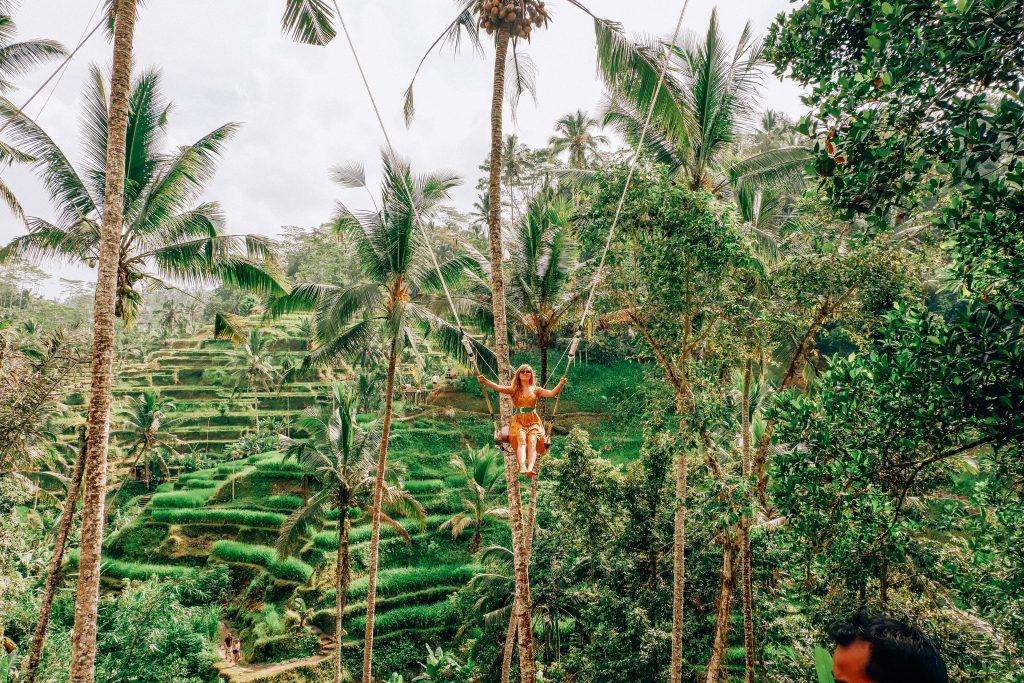 Que ver en Ubud - el columpio