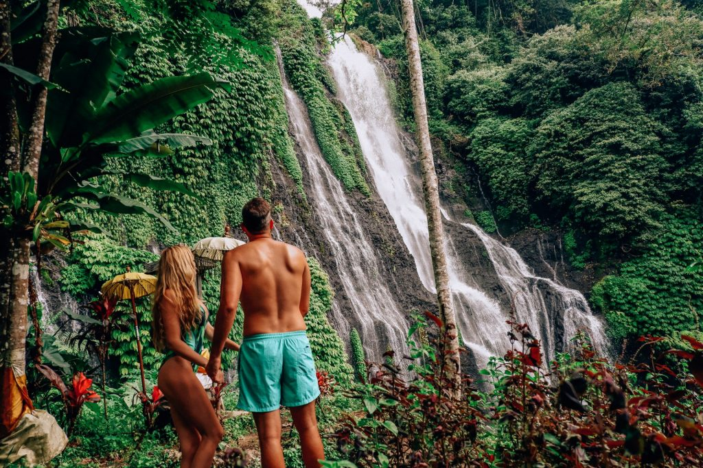 norte de bali, Cascadas de Banyumala