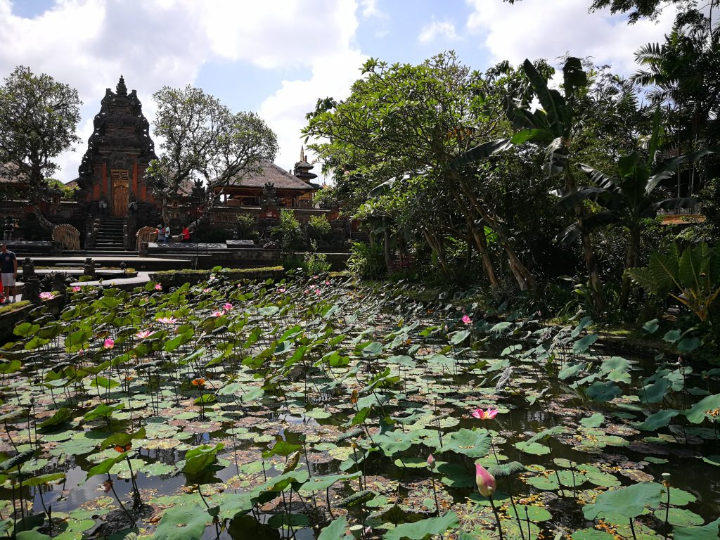 Pura Taman Saraswati - Que ver en Ubud