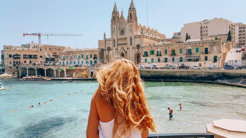 Balluta bay, playas de Malta