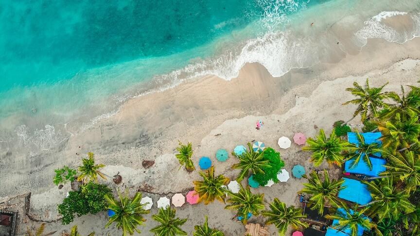 Atuh, playas de Nusa
