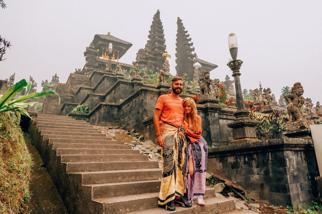 Norte de Bali, templo Besakih