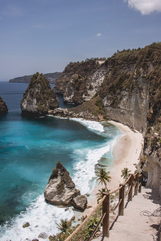 Diamond beach, playas de Nusa Penida