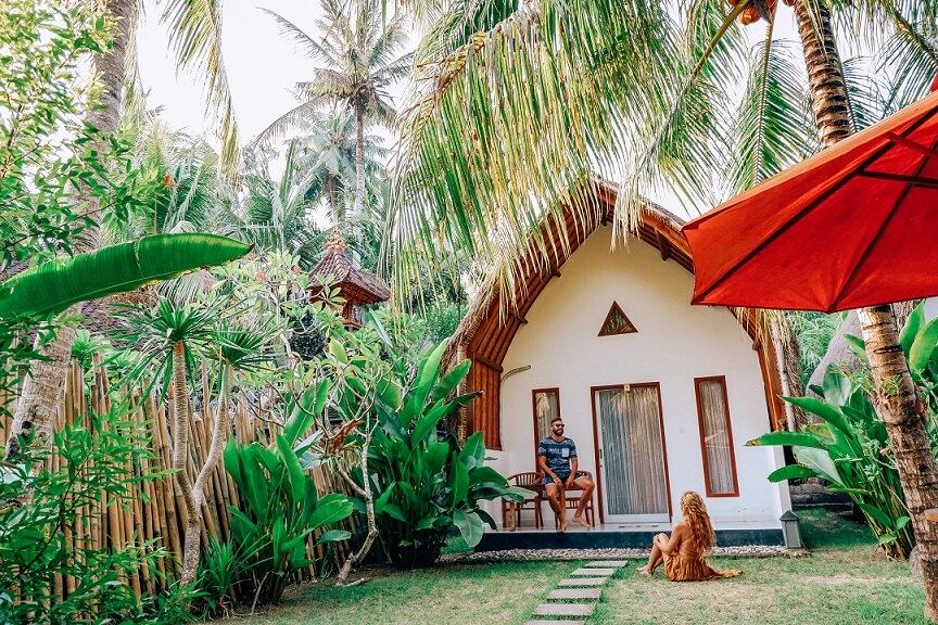 Donde dormir en Nusa Penida
