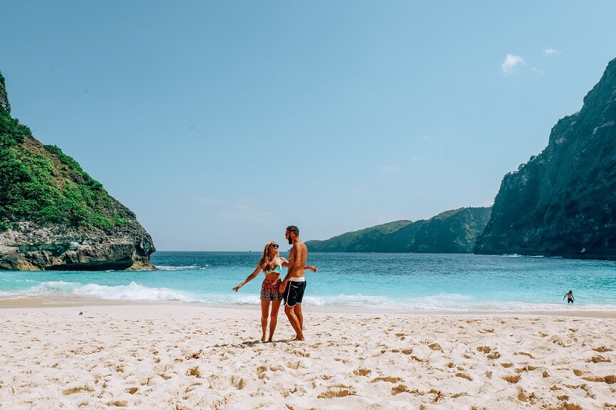 Kelingking, playas de Nusa Penida