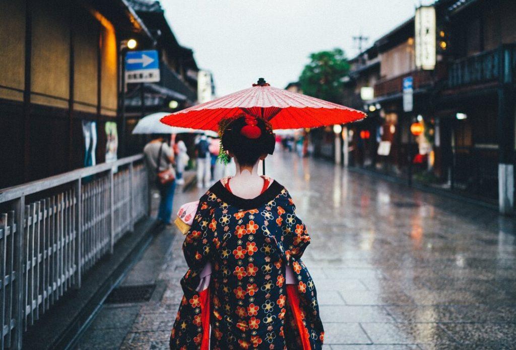 Geishas en Japon