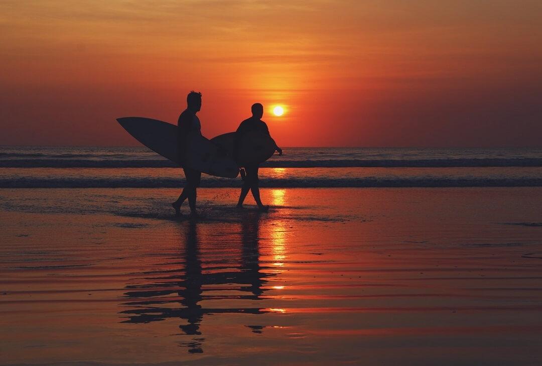 surf para principiantes en Bali